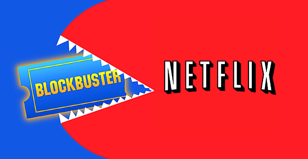 netflix vs blockbuster