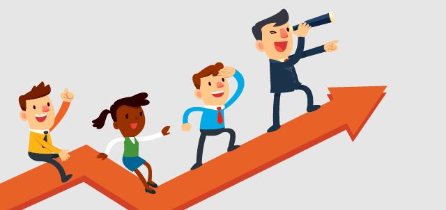 Verso la strada del successo nel lavoro