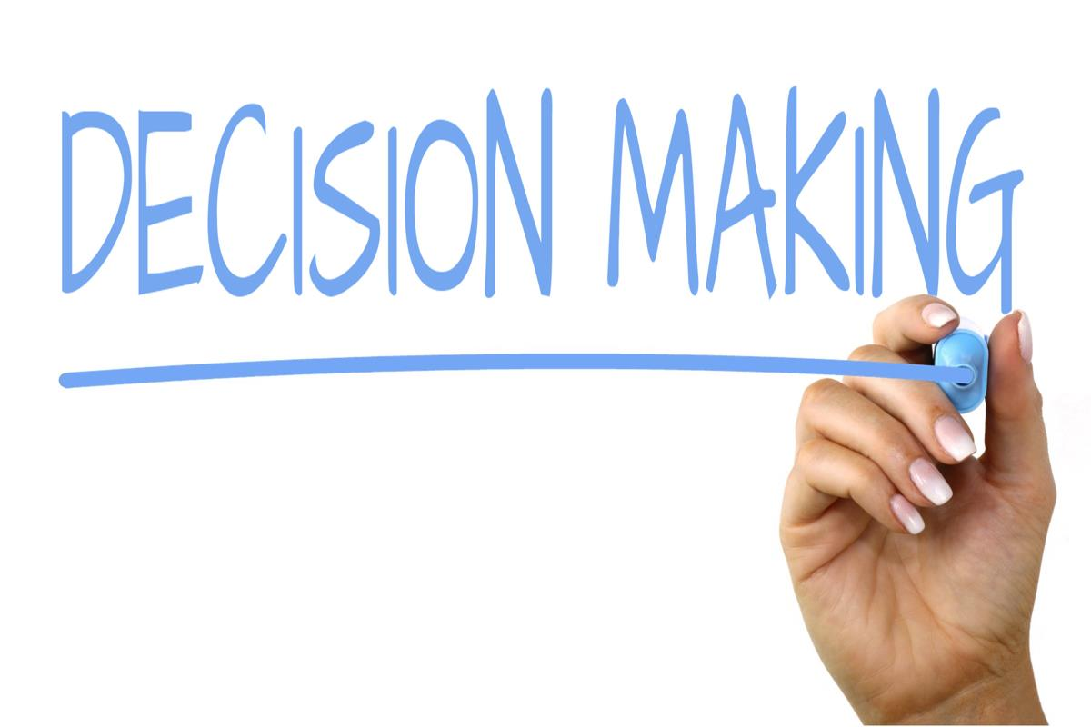 Group Decision Making e le decisioni