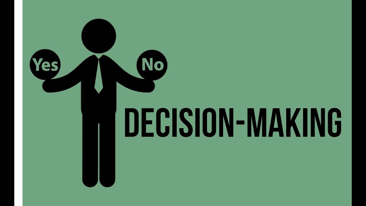 Le decisioni