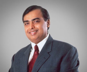 Mukesh Ambani è il Managing Director di Reliance