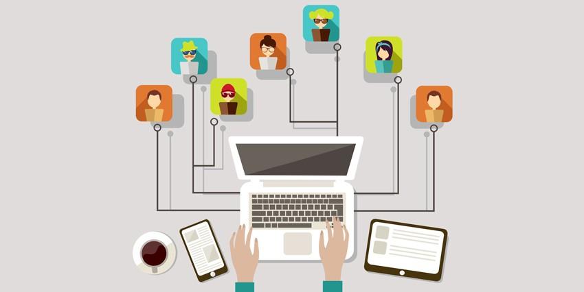 connessione tra uomo e tecnologia