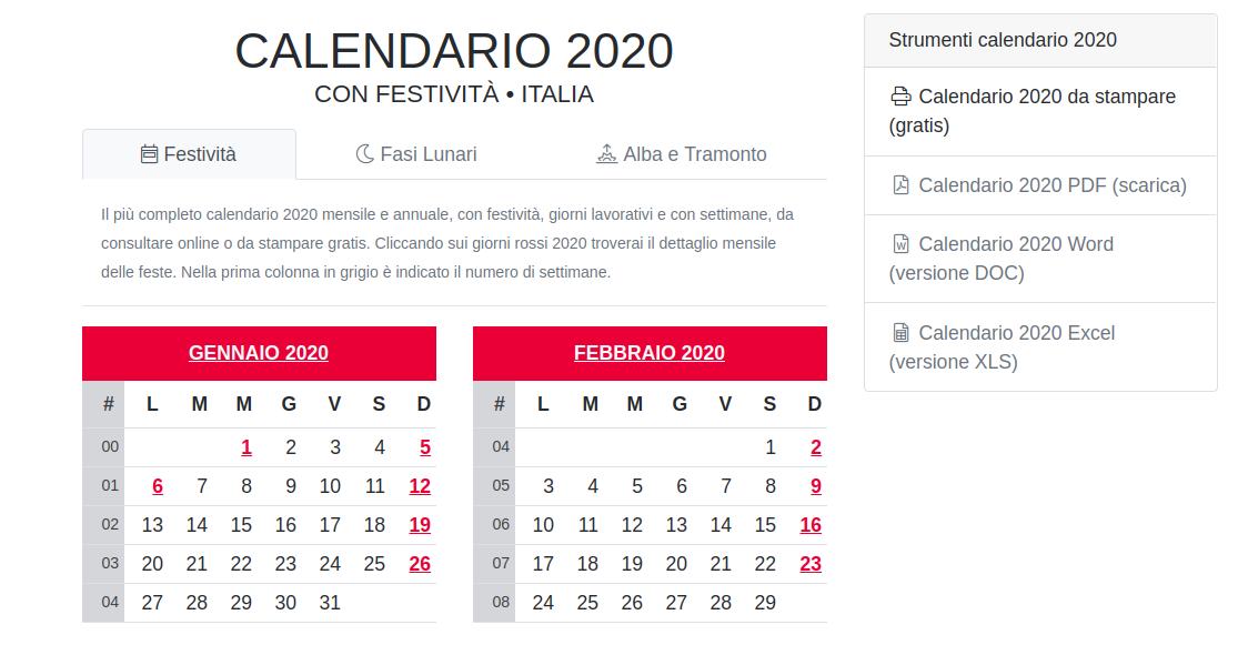 Controllo Calendario Excel 2020.L Importanza Della Pianificazione E Della Programmazione