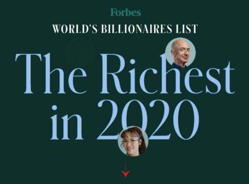Uomini Ricchi Mondo 2020 Forbes