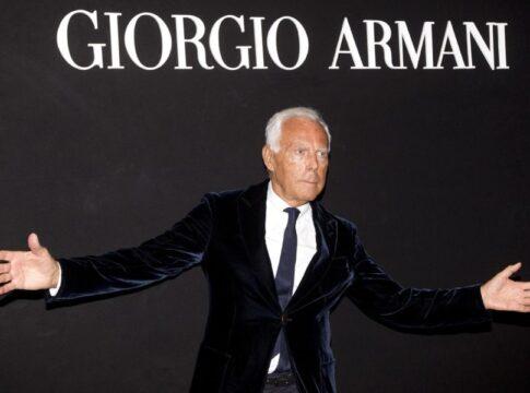 Armani covid19 Milano strategia