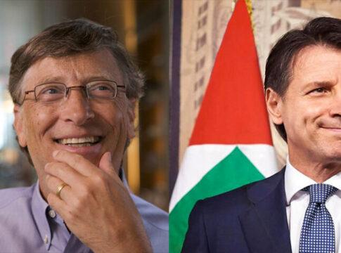 Bill Gates Giuseppe Conte Vaccino Coronavirus