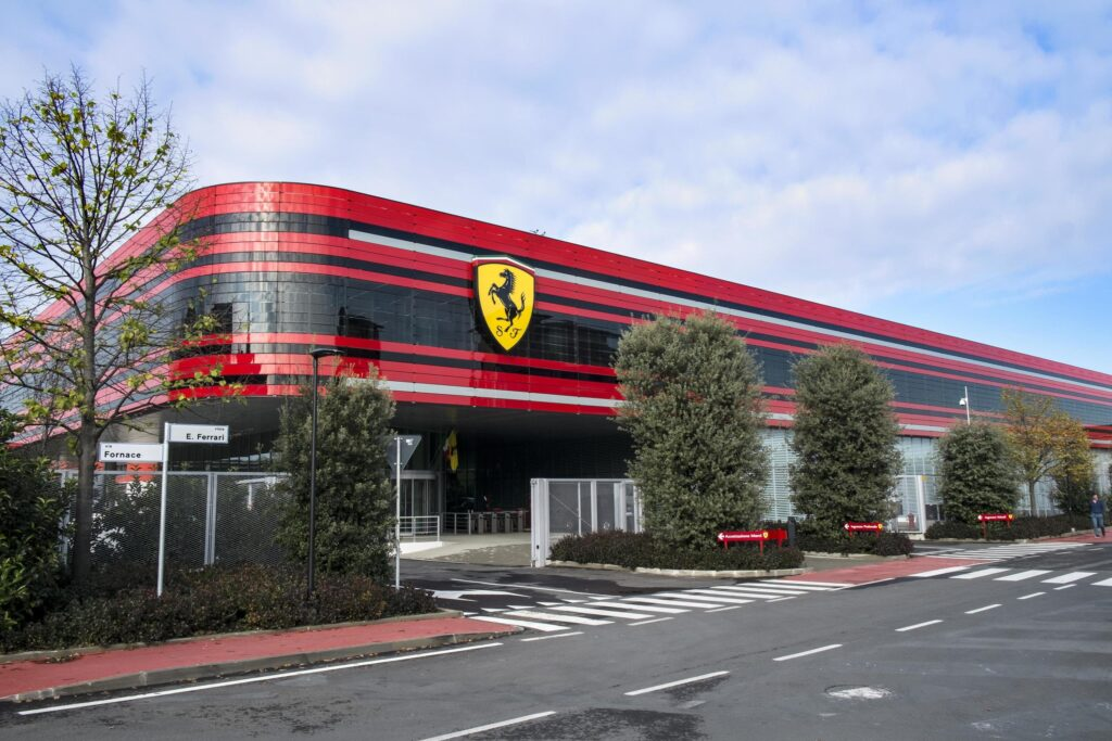 Ferrari Back on Track Factory