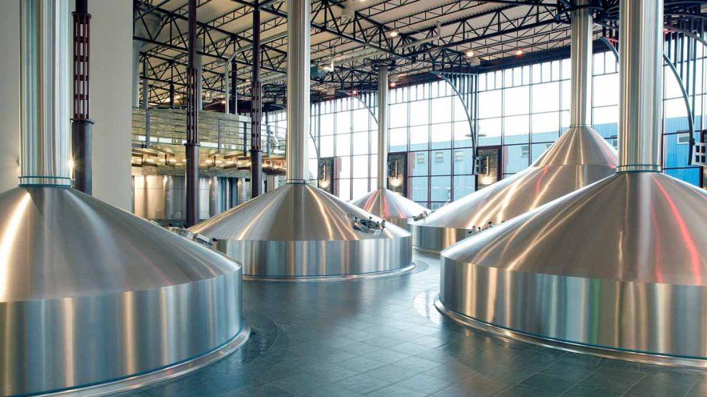 Attrezzi industria birra.  Fonte: GEA.com