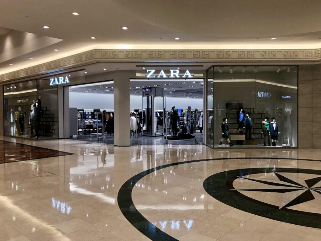 Zara Chiude Negozi Punta E-Commerce