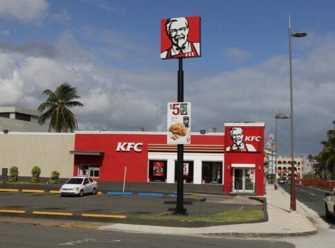 KFC visionario pollo 3D
