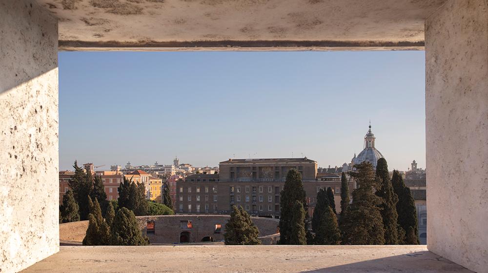 Panorama dal Bulgari Hotel Roma