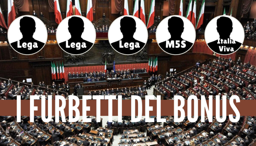 I furbetti del bonus. Fonte: Internapoli.it