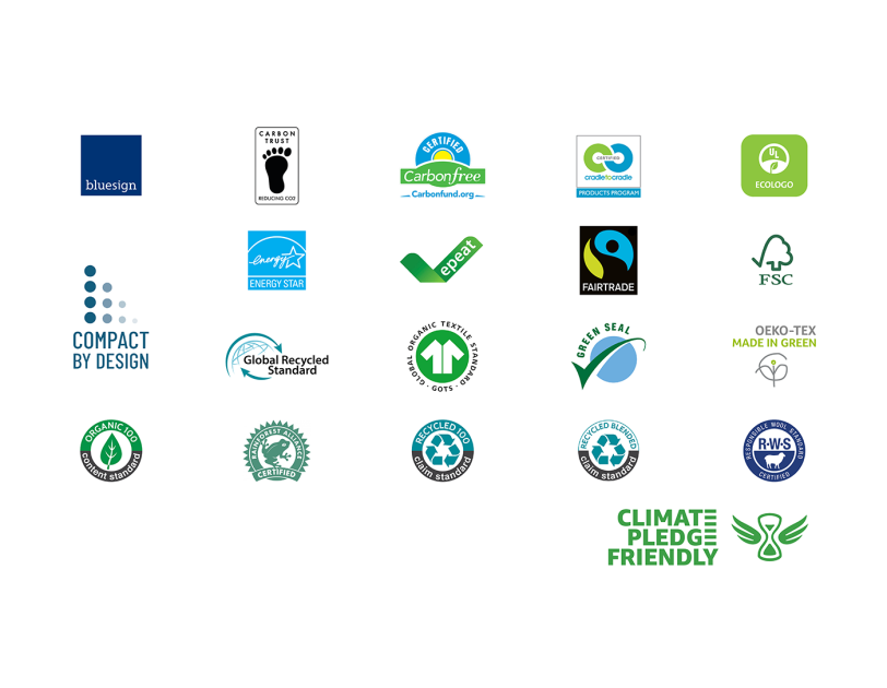 Certificazioni Climate Pledge Friendly
