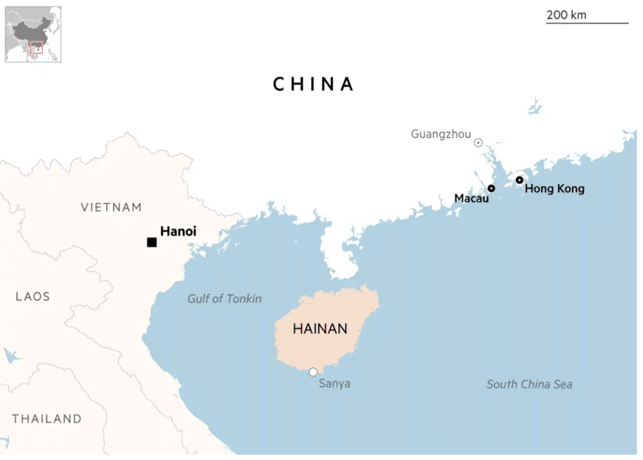 Hainan, Cina