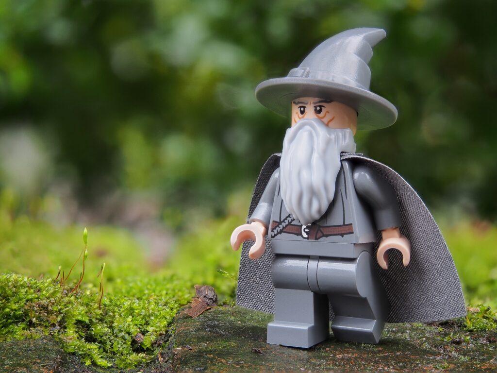 Riproduzione Lego di Gandalf il Grigio