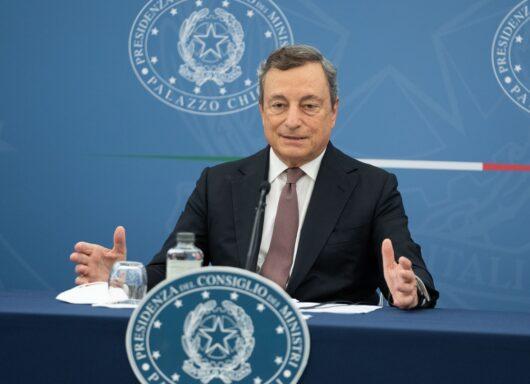 TIME 100: Mario Draghi unico italiano in classifica